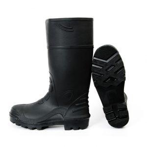 Black Gumboots for men